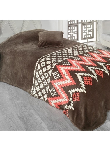 Maxstyle Bambu Lüx Yatak Örtüsü Marco Tek Kişilik Renkli